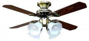 シーリングファン付照明器具